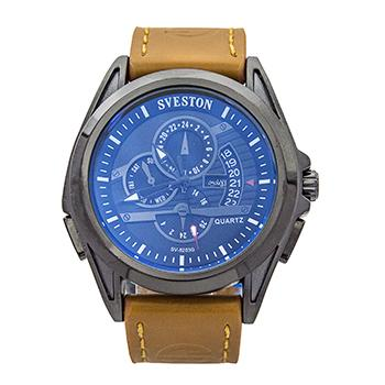 Sveston Leather Band Sports SV-8203 (Brown)