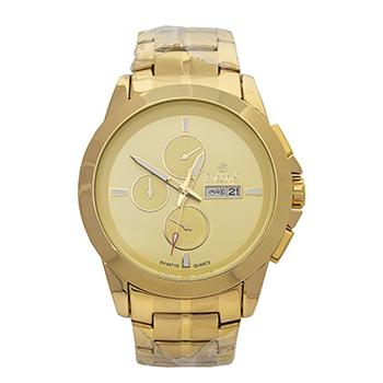 Sveston Metal Band Sports Day Date SV-9271 (Gold)