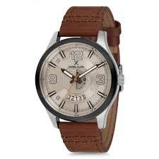 Daniel Klein 11653-6 Leather Band Analog Watch-(Brown) - Marheba