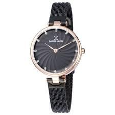 Daniel Klein 11904-5 Mash Band Women Analog Watch-(Black) - Marheba