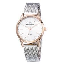Daniel Klein 11925-5 Mash Band Women Analog Watch-(Steel) - Marheba
