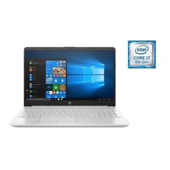 HP 15-DW0009NE Laptop – Core i7 1.8GHz 16GB 512GB 4GB Win10 15.6inch FHD Natural Silver - Marheba