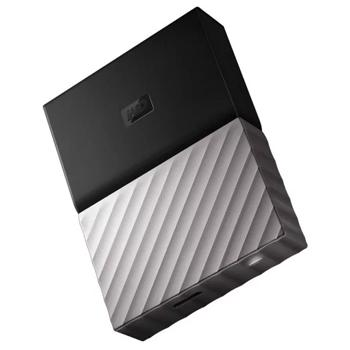 Western Digital My Passport Ultra – External Hard Drive 4TB Grey - Marheba