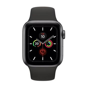 Apple Watch Series 5 GPS 40mm Space Grey Aluminium Case with Black Sport Band - Marheba