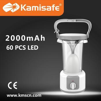 Kamisafe KM-7633T 60 LED rechargeable emergency lantern - Marheba