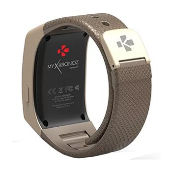 MyKronoz ZEWATCH4 Smart Watch GoldBrown - Marheba