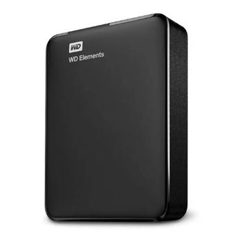 Western Digital Elements Portable Hard Drive 3TB Black WDBU6Y0030BBKWESN - Marheba