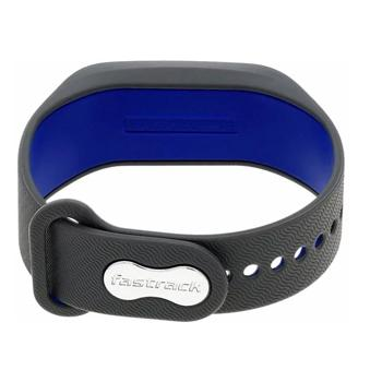Fastrack 90059PP04 Reflex 2.0 Smart Band Grey With Electric Blue Accent - Marheba