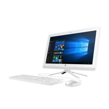 HP 22-C0001NE All-in-One Desktop – Core i3 2.2GHz 4GB 1TB Shared Win10 21.5inch FHD Snow White - Marheba
