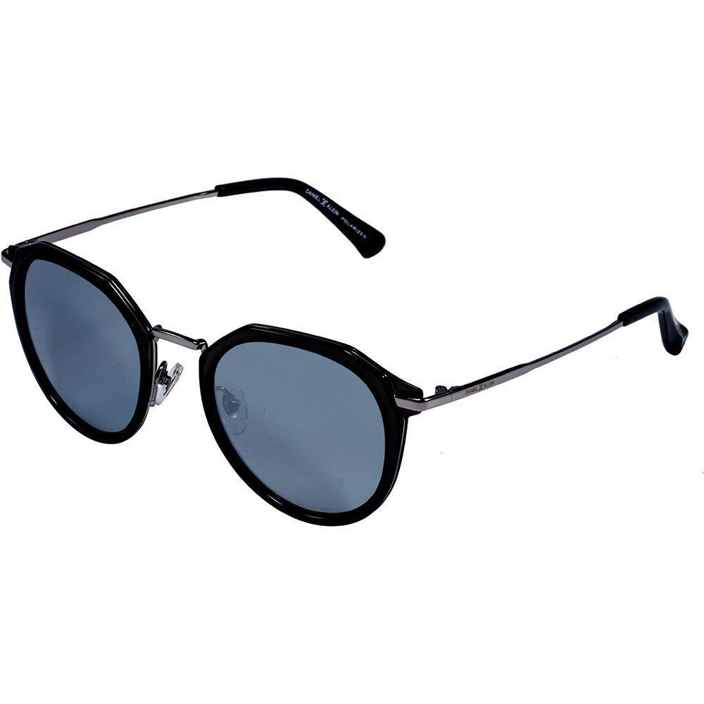 Daniel Klein Men Browline Trendy Polarized  Sunglasses DK 4254-C3 - Marheba