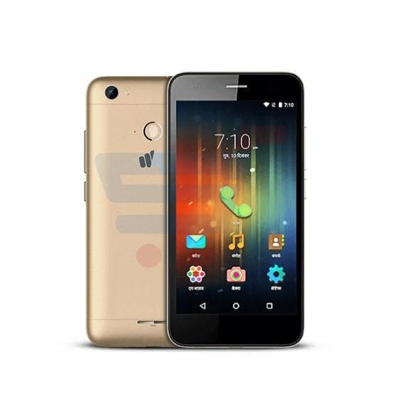 Micromax Q465 Smartphone,Android, 5.5 Inch Display,Dual SIM,Dual Camera-grey