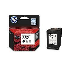 HP 652 Ink Advantage Cartridge, Black - F6V25AE