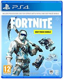 Fortnite: Deep Freeze Bundle PS4 - Marheba