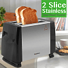 Polartec 2 Slice Sandwich Maker 750 Watts, PT-3634 - Marheba