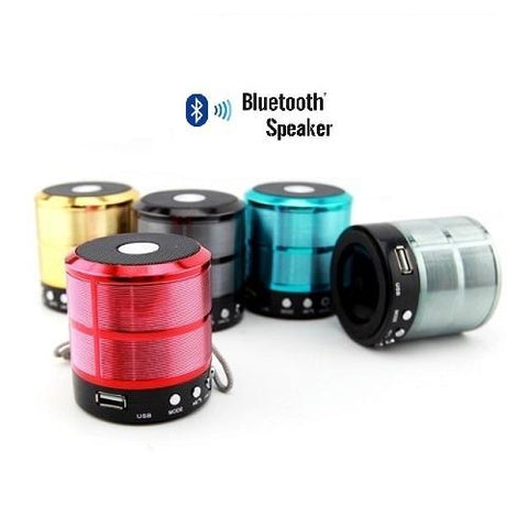 Wster Mini Speaker with Bluetooth (WS-887) - Marheba