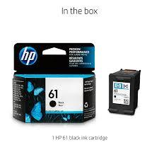 HP 61 Black Original Ink Cartridge - Marheba