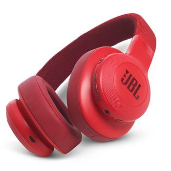 JBL Wireless Over-Ear Headphones E55 Red - Marheba