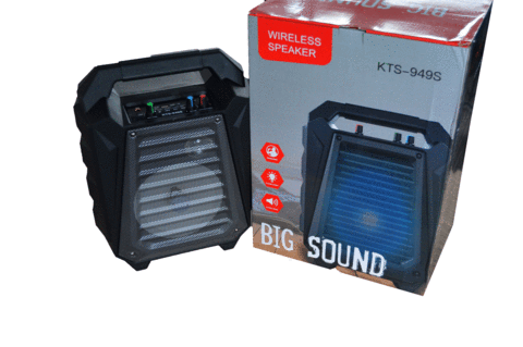 KTX-949S Portable Wireless Bluetooth Speaker-Black - Marheba
