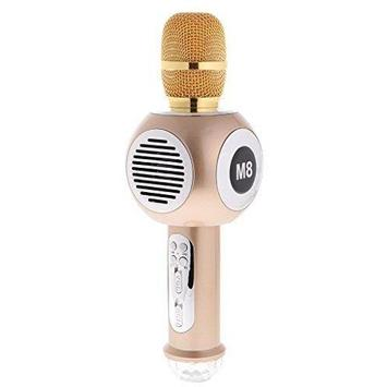 M8 Wireless Bluetooth Microphone KTV Karaoke Handheld Mic Speaker Wireless Microphone