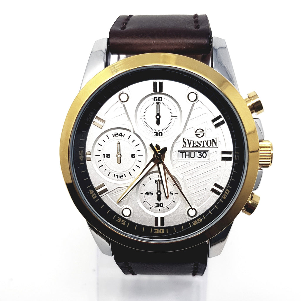 Sveston  Leather Band Sports SV-8178 (Light Brown) - Marheba