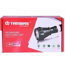 Tambas Rechargeable Coold Daylight Beam LED Flashlight, Beat6200-C - Marheba