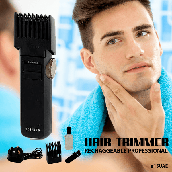 Koleda Rechargeable Beard/Hair Trimmer TK-203 - Marheba