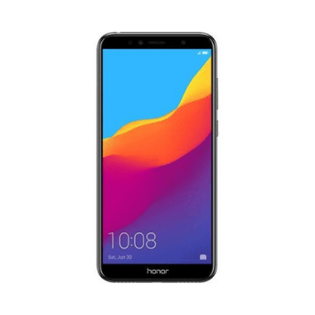 Honor 7A Dual SIM - 16GB, 2GB RAM, 4G LTE- BLACK - Marheba