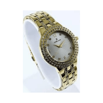 Daniel Klein 10917-1 Metal Band Women Analog Watch- (Gold) - Marheba