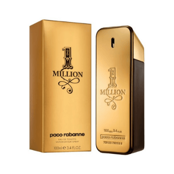 1 Million by Paco Rabanne for Men - Eau de Toilette, 100ml - Marheba
