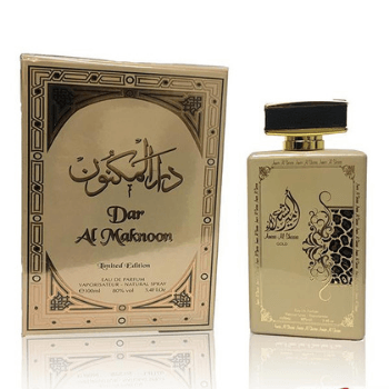 Dar Al Maknoon Perfume For Men And Women 100 Ml Edp - Marheba