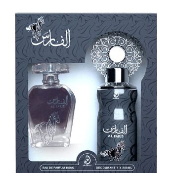 Al Faris Eau De Perfum 100 ml, Perfume Spray 1*200 ml - Marheba