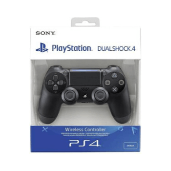Sony Dualshock 4 V2 Wireless Controller Bluetooth Gamepad (Black, For PS4) - Marheba