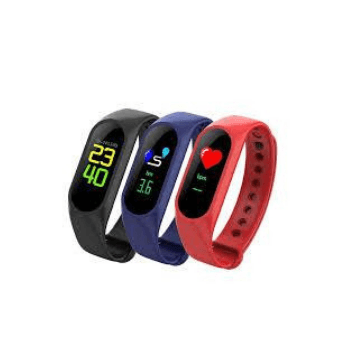 TFT M3 Smart Bracelet Heart Rate Monitor (Wristband 0.96 inch) - Marheba