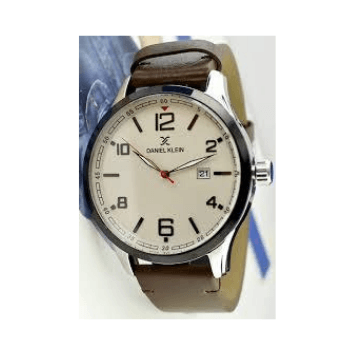 Daniel Klein 11646-2 Leather Band Analog Watch - Marheba