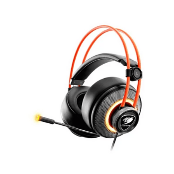 Cougar Immersa Pro Gaming Headset With Mic Black/Orange - Marheba