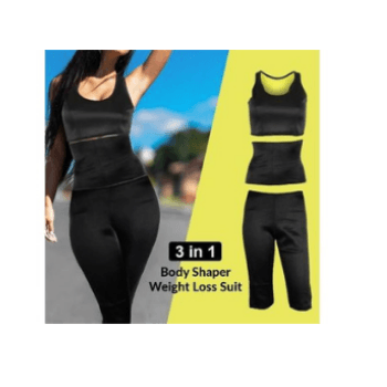 Body Shapers 3 in 1 Slimming Pants and Sweat Increaser. - Marheba