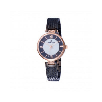 Daniel Klein 11901-6 Mash Band Women Analog Watch-(Black) - Marheba