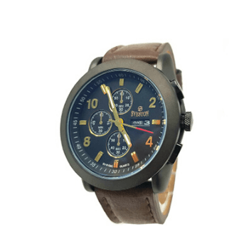 Sveston Leather Band Sports SV-8106 (Dark Brown) - Marheba