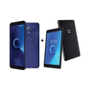 Alcatel 1 5033D Dual Sim 8GB (Assorted) + Alcatel 3T Go Edition Tab 16GB Bundle - Marheba