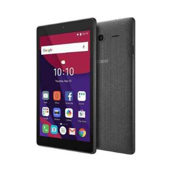Alcatel PIXI 4 9015Q Tablet 7 Inch, Android 6.0, 16GB, 4G LTE, Dual Camera, Volcano Black - Marheba