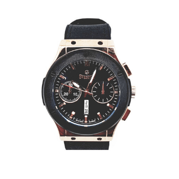 Sveston Leather Band Sports SV-8152 (Black) - Marheba