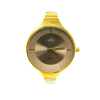 Fitron Ladies Metal Quartz Watch (Gold)-8846 - Marheba