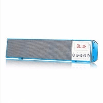 Bluetooth Speaker-WS 2015-BLUE - Marheba