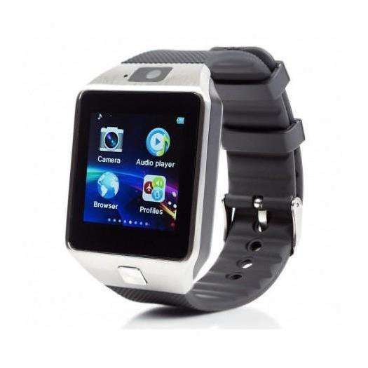 W-007 Smart Watch Touch Screen Black With 1 Year Warranty. - Marheba