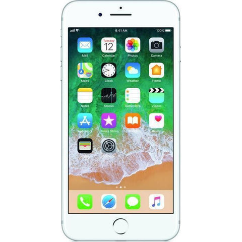 Apple iPhone 7 Plus (Silver,256 GB)
