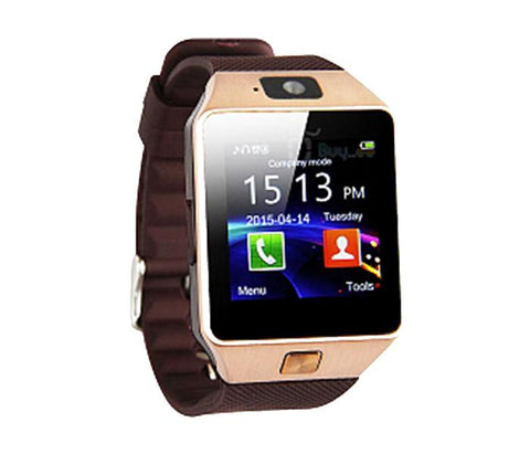 BSNL BW-77 Smart Watch, Gold. - Marheba