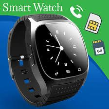 Smart Bison Smart Watch B8/T8, Black - Marheba