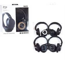 P29-Wireless Bluetooth Stereo Bass Headphones - Marheba
