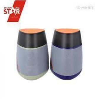Wster Wireless Bluetooth Speaker, Candle Light (WS-1826)