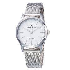 Daniel Klein 11925-3 Mash Band Women Analog Watch-(Steel) - Marheba